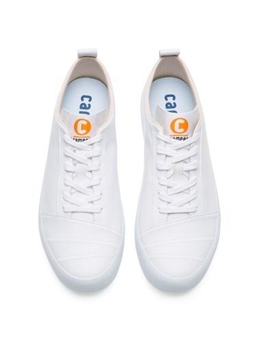 Camper Hakiki Deri Ayakkabı Beyaz